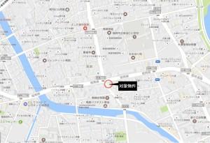 シャトレ大濠 地図