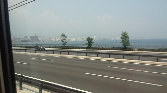 車窓からの風景(in別府)