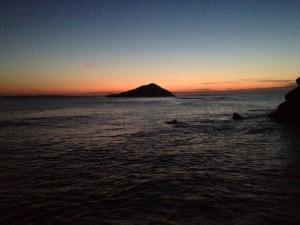 夕刻の海__
