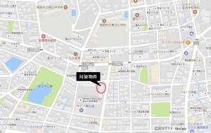 JGMロイヤルヒルズ長丘の杜七番館303号_地図