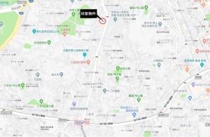 ロワールマンション赤坂 地図(桜坂駅あり)
